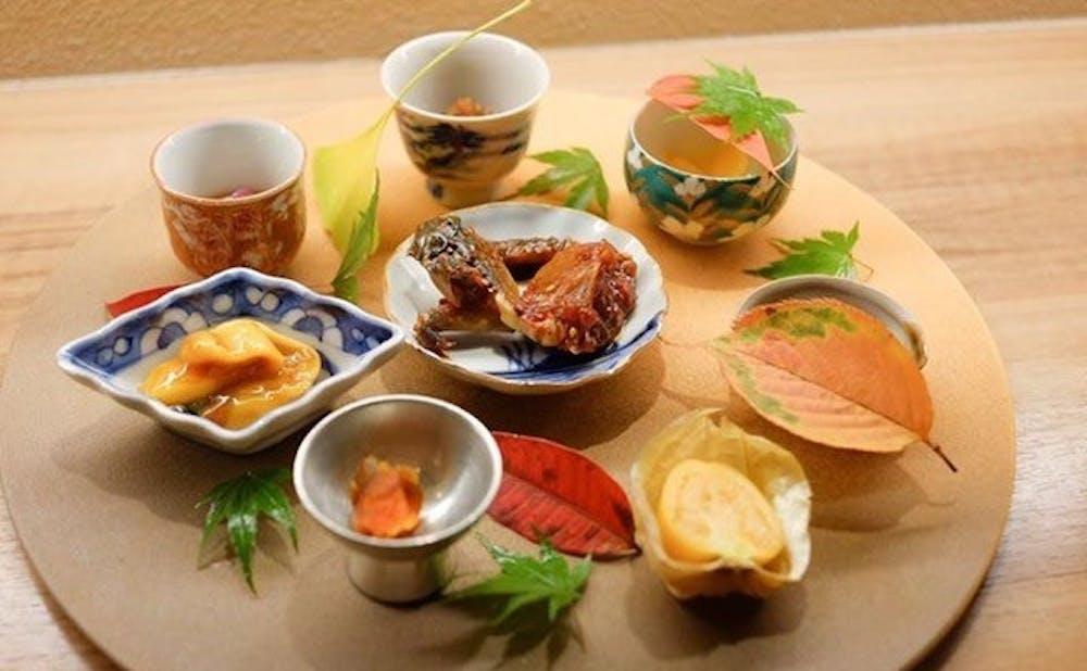 割烹 一献(東京都/六本木)のお料理
