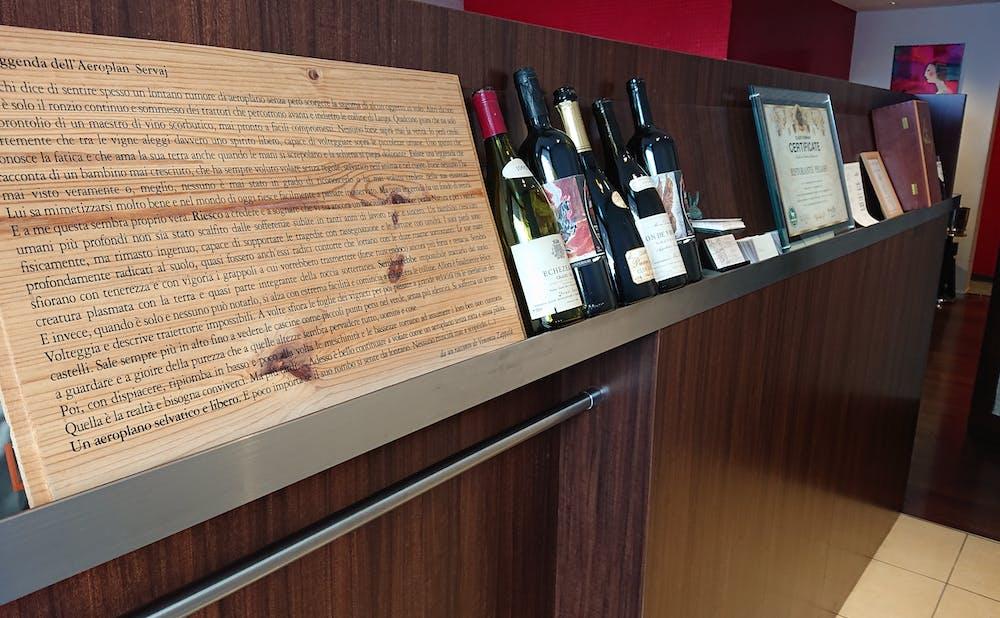 「RISTORANTE PEGASO」のワイン