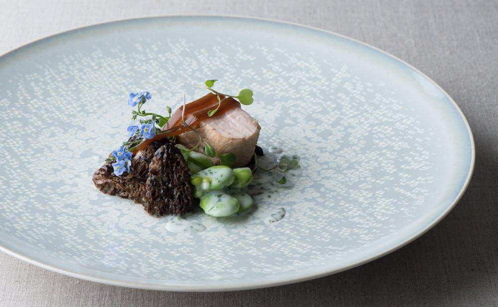 「レストランひらまつ 広尾」の料理