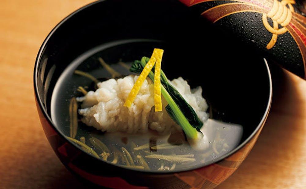 「銀座しもじ」の料理