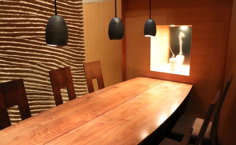 「六雁」の個室