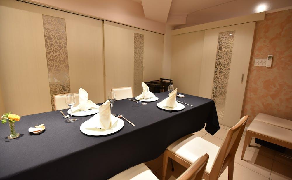 「メゾン・ド・ユーロン」の個室