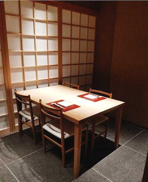 「常」の個室