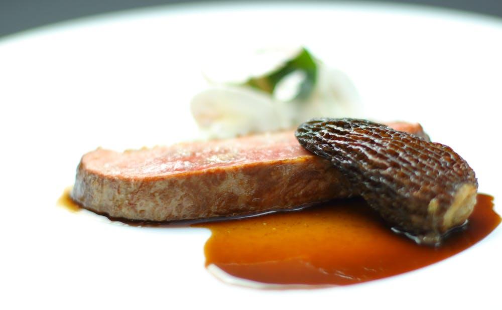「レストラン アロム」の料理