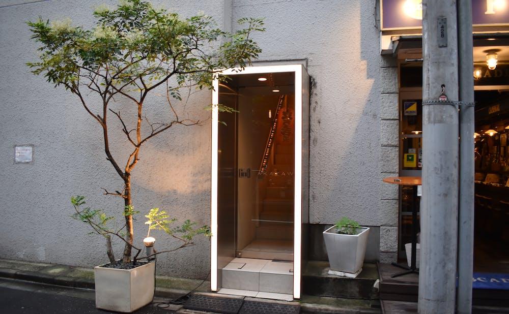「TAKAZAWA」の入り口