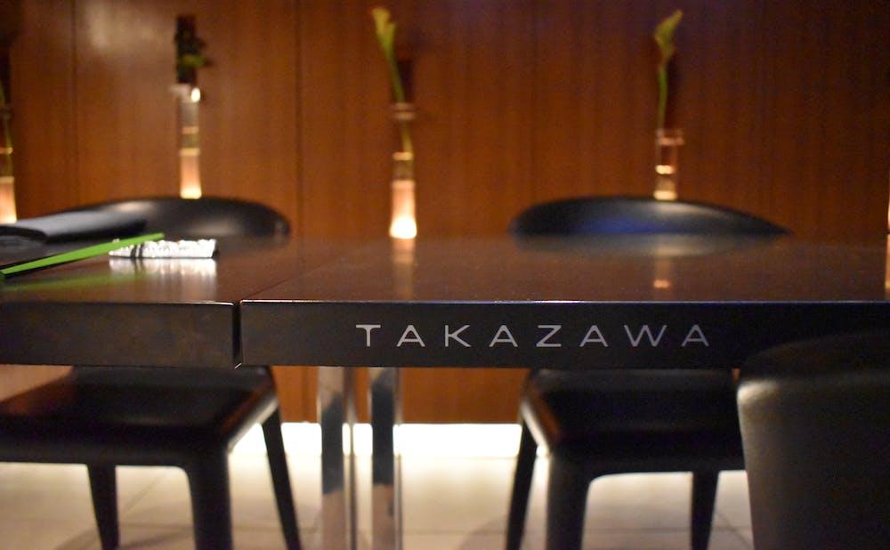 「TAKAZAWA」の店内