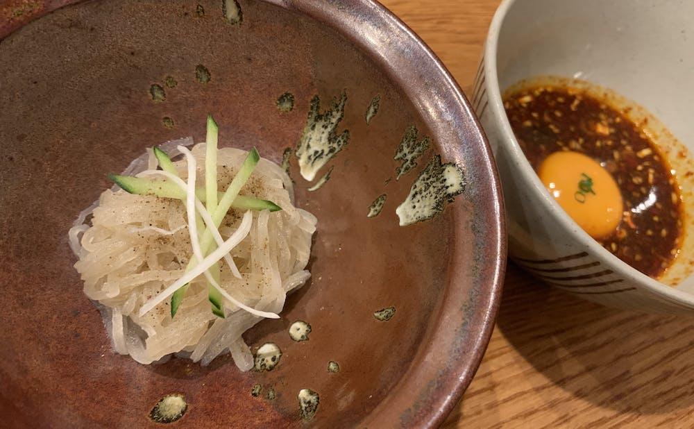 「誇味山」の冷麺