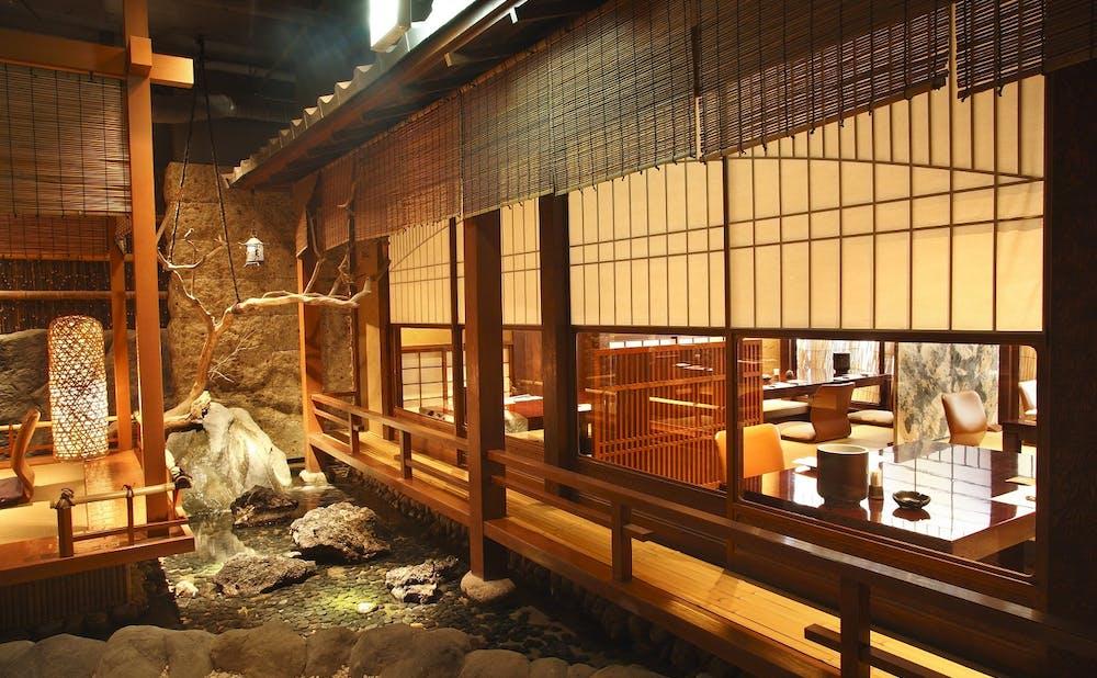 「日比谷 蟹工船」の個室
