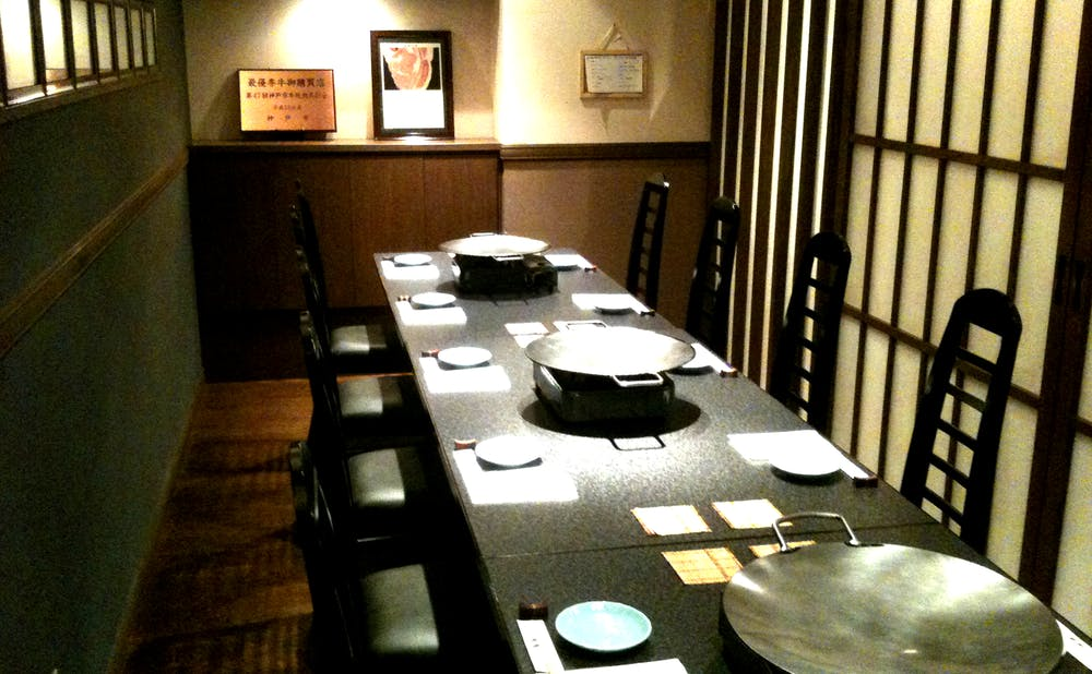 「味鉄赤坂店」の個室