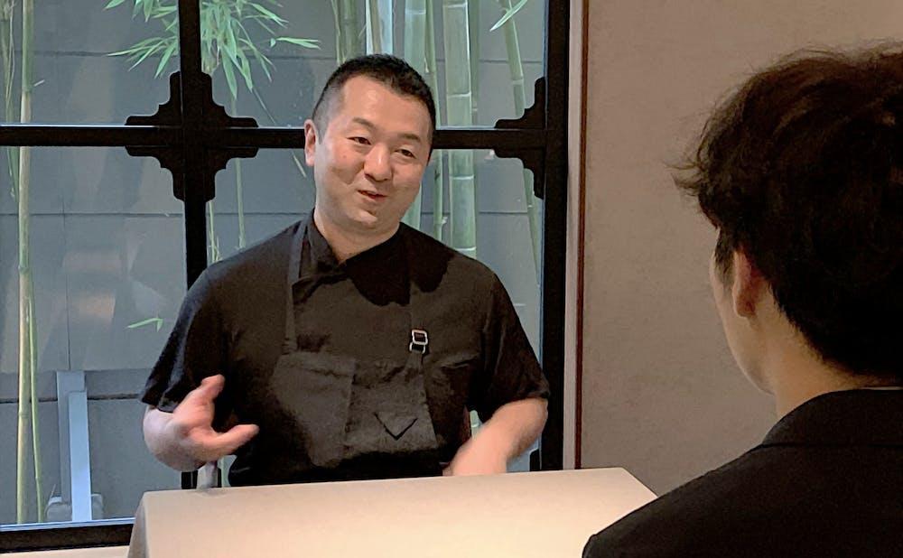 「茶禅華」の料理長・川田智也氏