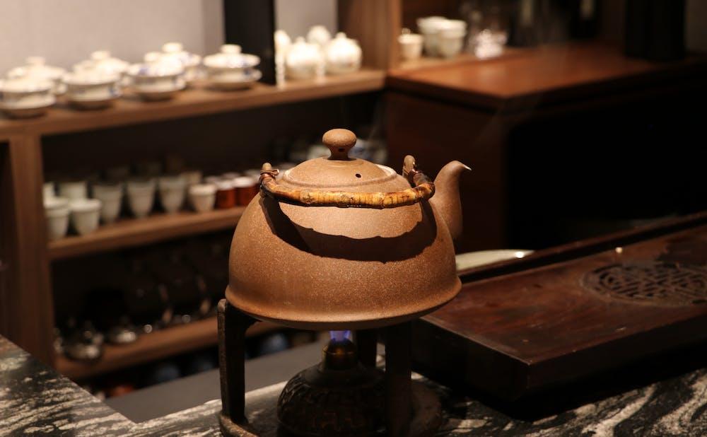 「茶禅華」の茶器