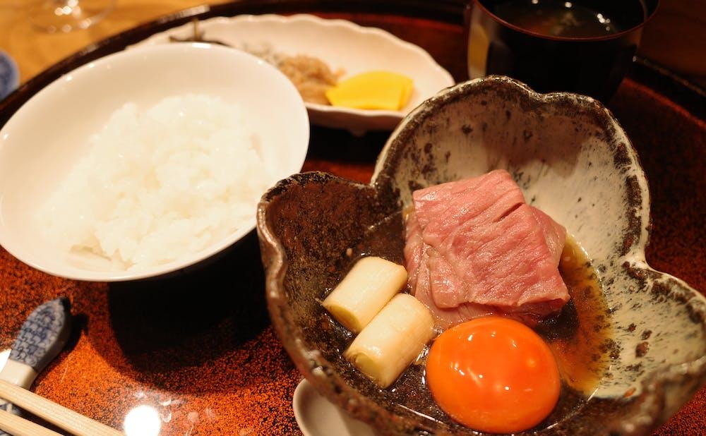 「銀座 小十」の料理
