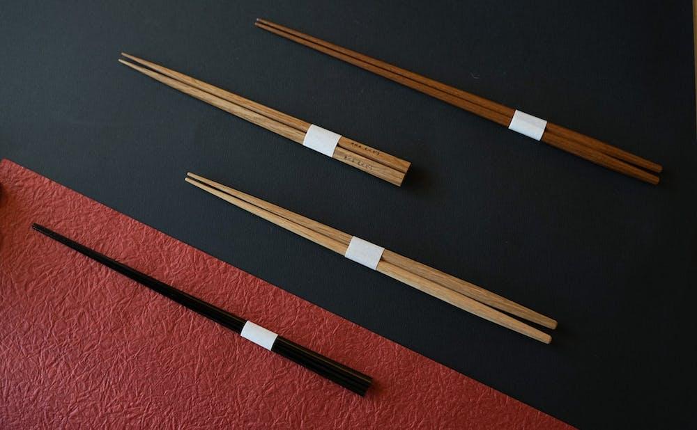 「恵比寿えんどう」の箸