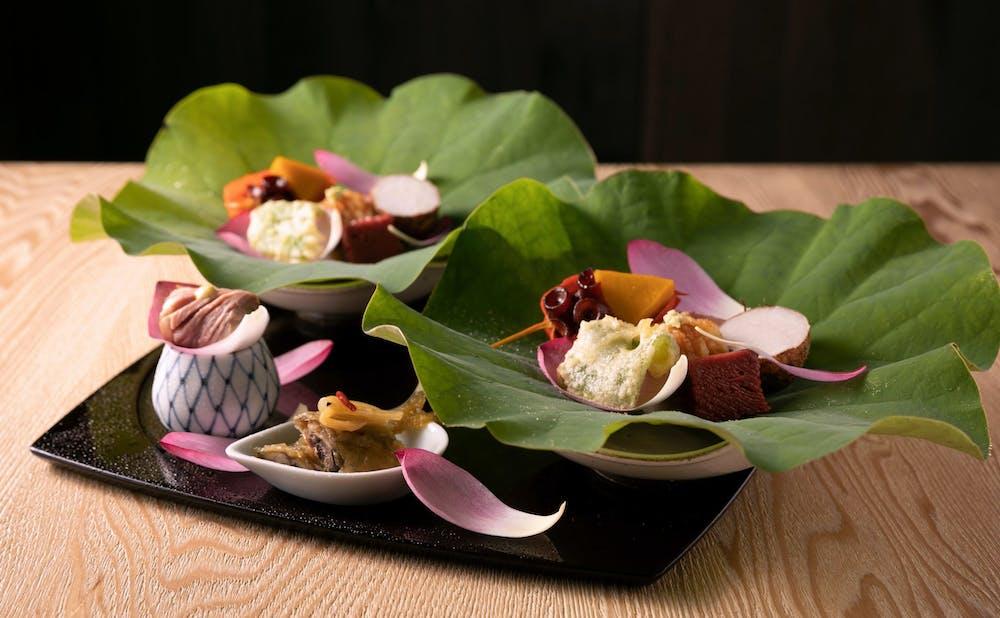 「茶寮 宮坂」の料理