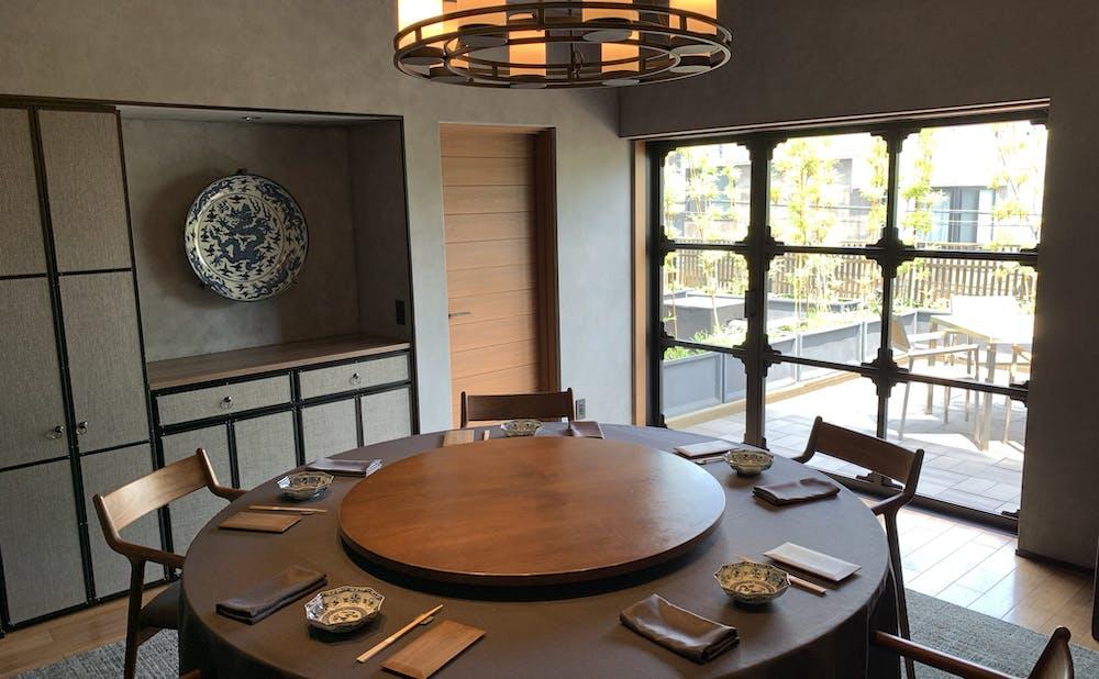 「茶禅華」の個室