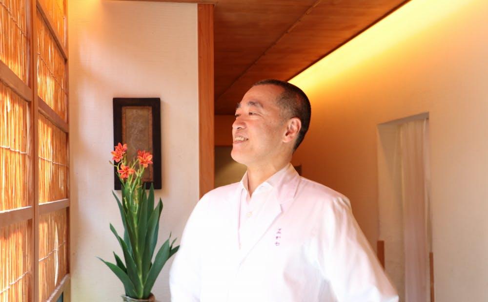 「神楽坂 石かわ」の大将・石川秀樹氏