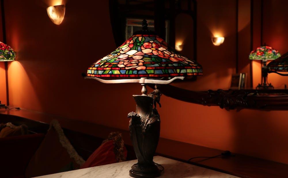 「メゾン ポール・ボキューズ」のランプ