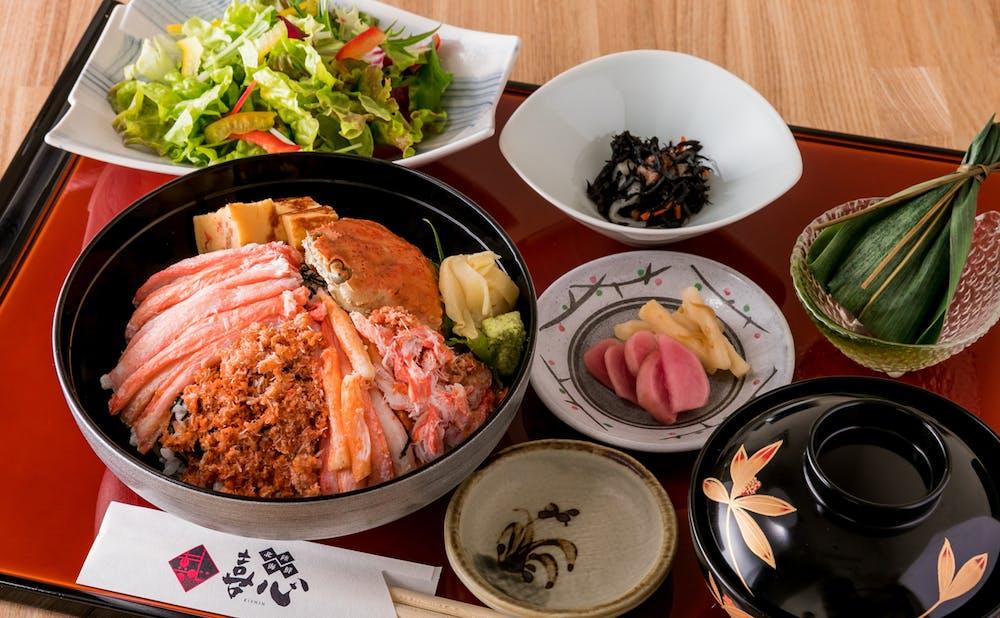 「北陸海鮮 喜心」の料理