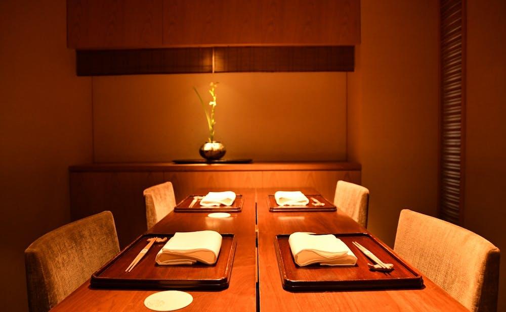 「神楽坂 石かわ」の個室