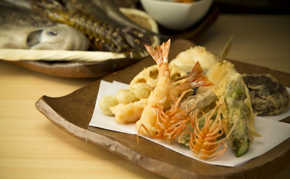 「天ぷら 銀座おのでら 並木通り店」の料理