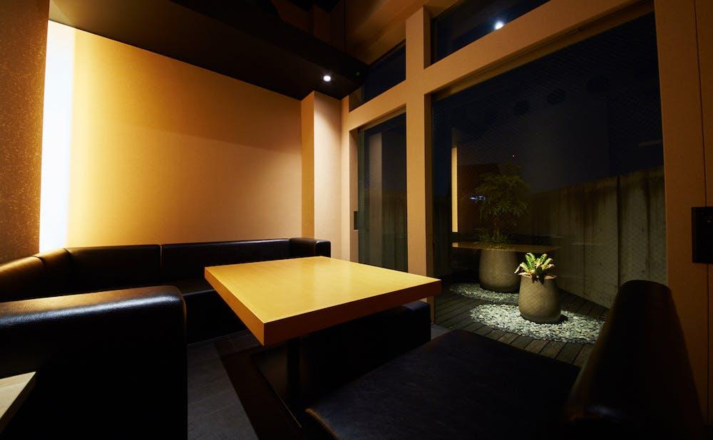 「喜鈴 別邸」の個室