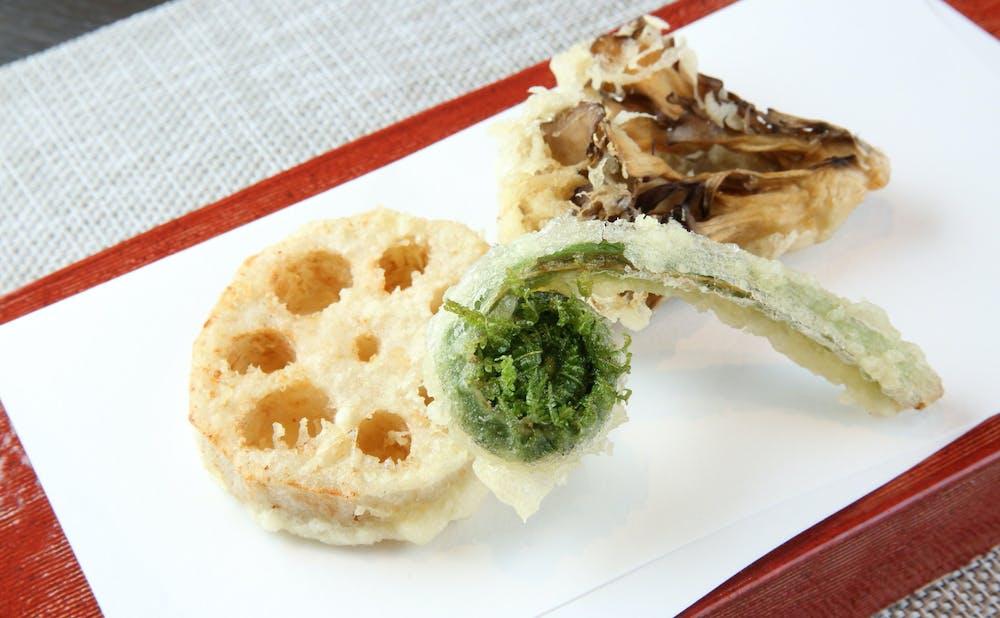 「天ぷら初穂」の料理
