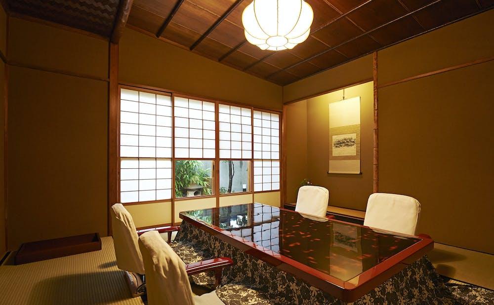 「紀尾井町 福田家」の個室