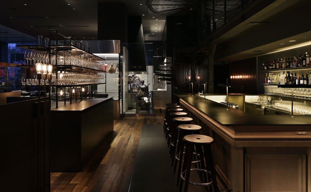 Ruby Jack's Steakhouse & Barのカウンター