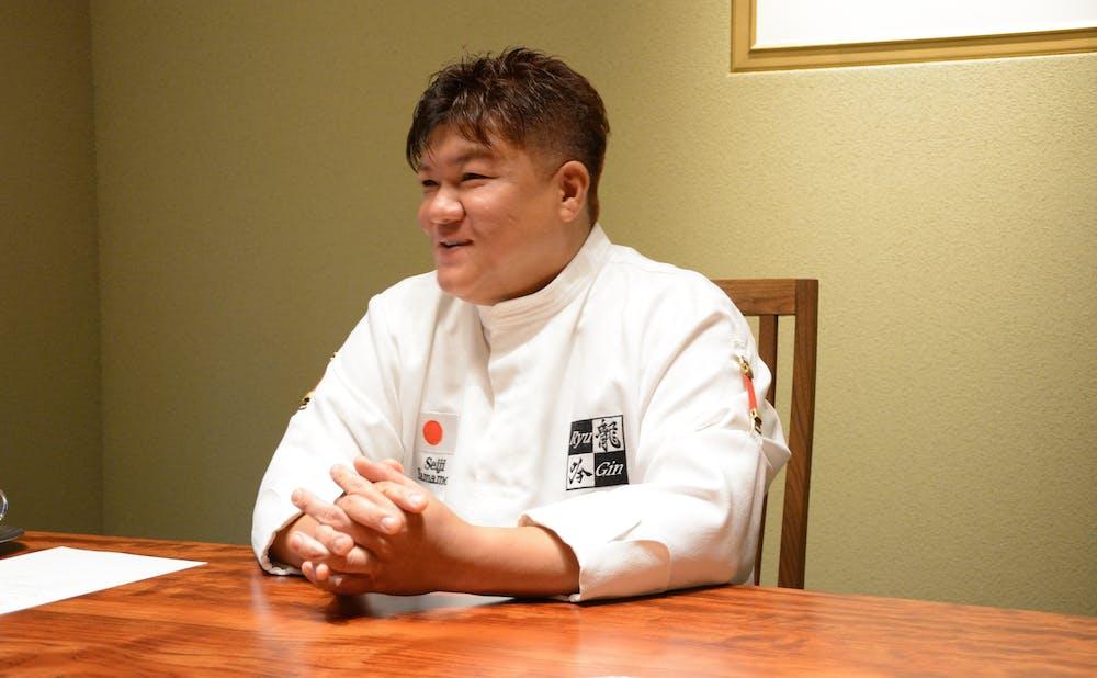 日本料理 龍吟の山本征治シェフ