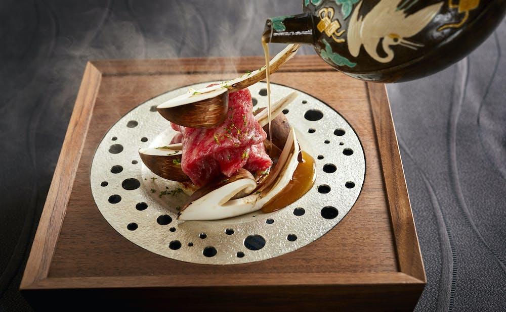 日本料理 龍吟の料理