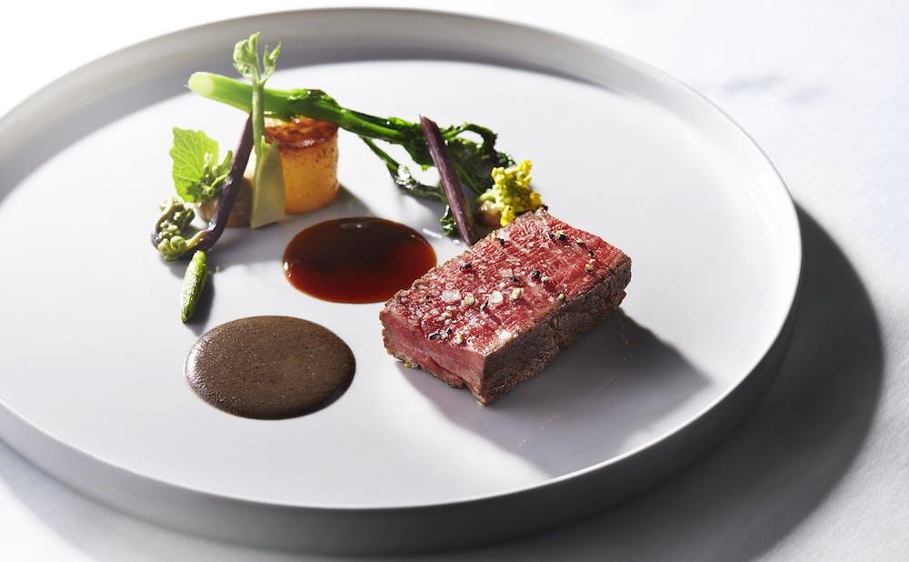 「シグネチャー/マンダリン オリエンタル 東京」の料理
