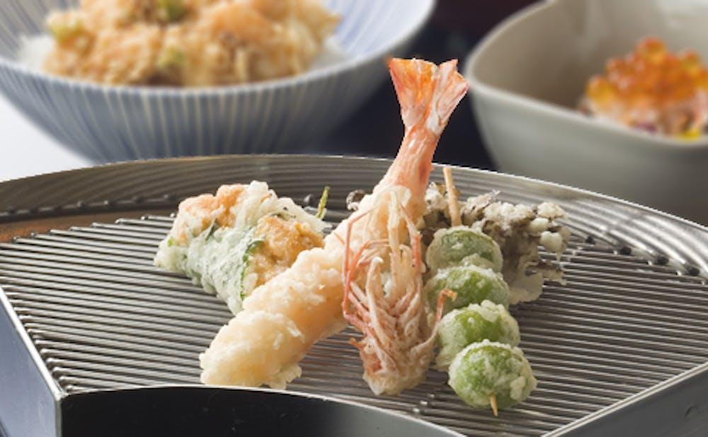「てんぷら山の上Roppongi」の料理