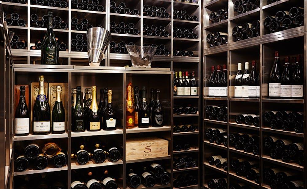 「ロオジエ」のワインセラー