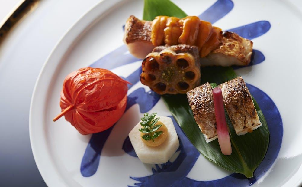 「紀尾井町 福田家」の料理