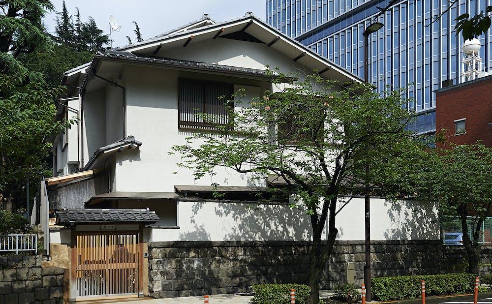 「紀尾井町 福田家」の外観