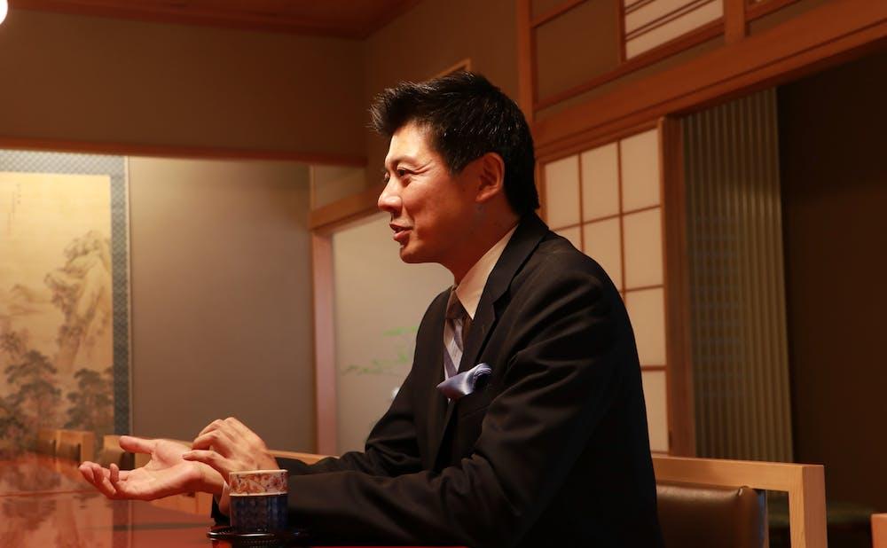 「紀尾井町 福田家」の福田氏