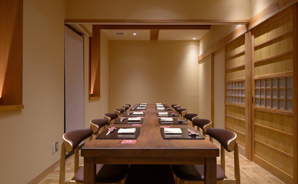 「神楽坂 宙山」の個室