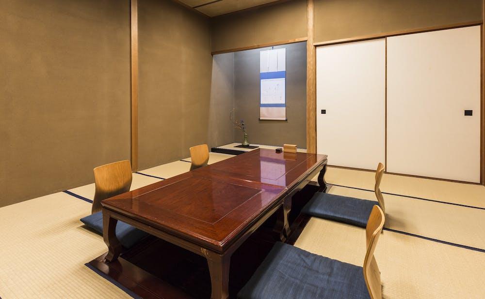 懐石 辻留の個室