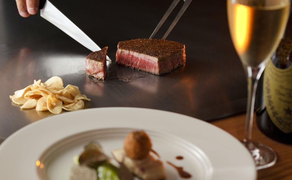 「嘉門/帝国ホテル 東京」の料理