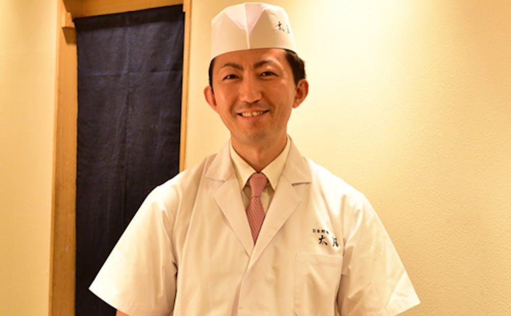 「日本料理 太月」の店主・望月英雄氏