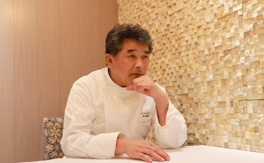 Restaurant L'AFFINAGEの高良康之シェフ