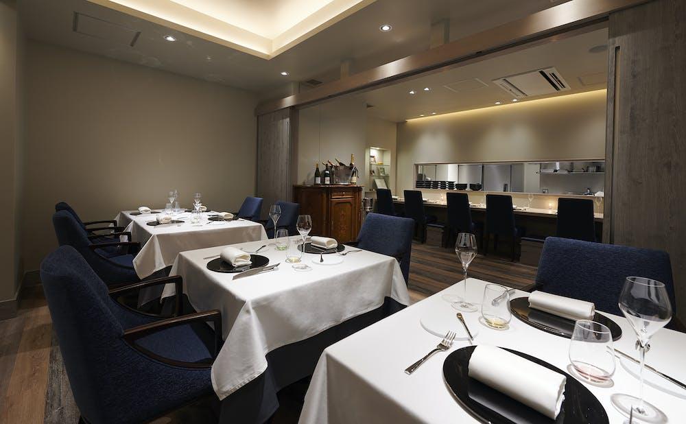 「Restaurant L'affinage」のメインダイニング