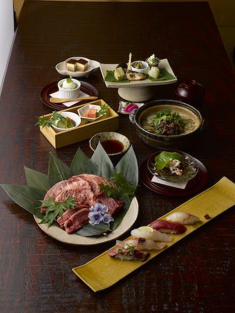 沖縄懐石 赤坂潭亭の料理