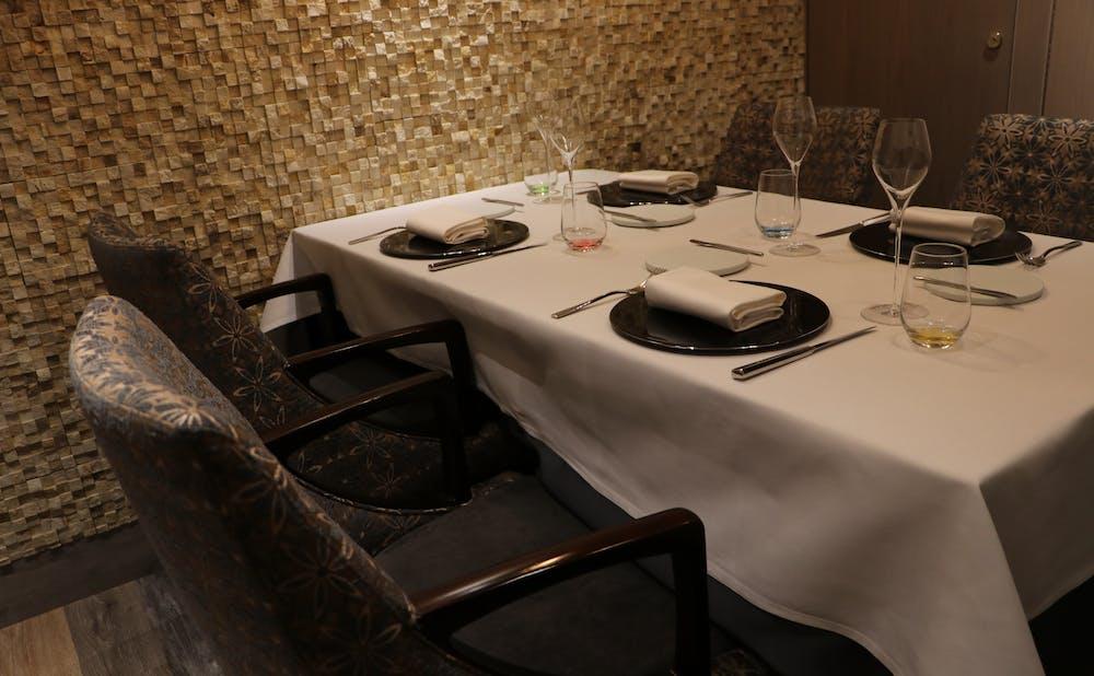 「Restaurant L'affinage」の個室
