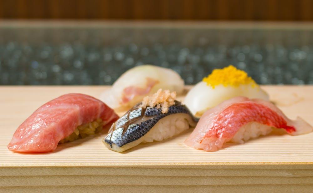 赤坂 鮨葵の料理