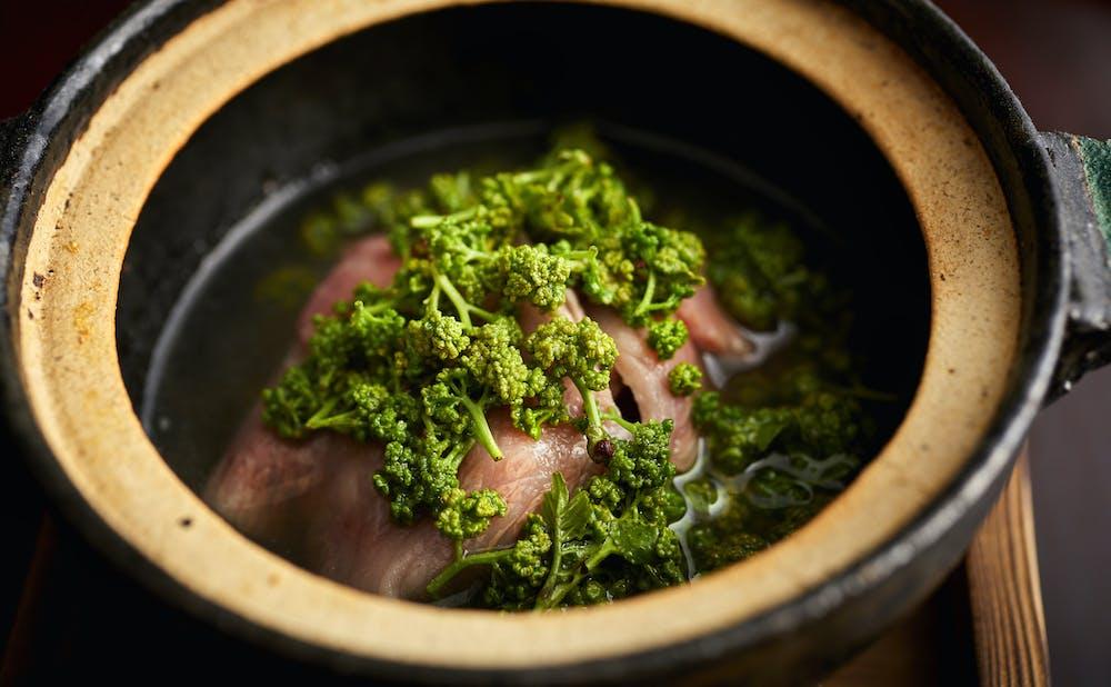 「日本料理 太月」の料理