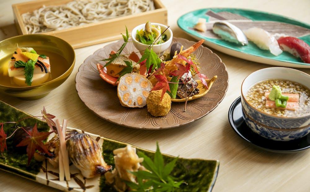 「紀尾井町 藍泉/ホテルニューオータニ」の料理