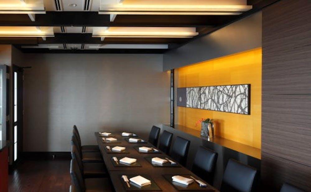 「鉄板焼 欅/ホテルニューオータニ幕張」の個室