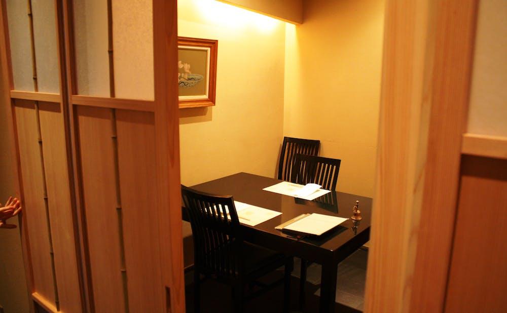 「吉星」の個室