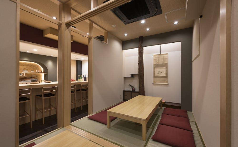 「銀座 すが家」の個室